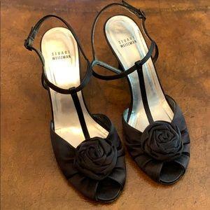 Satin Stuart weitzman sandals